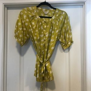 Kate Spade Silky top- size small
